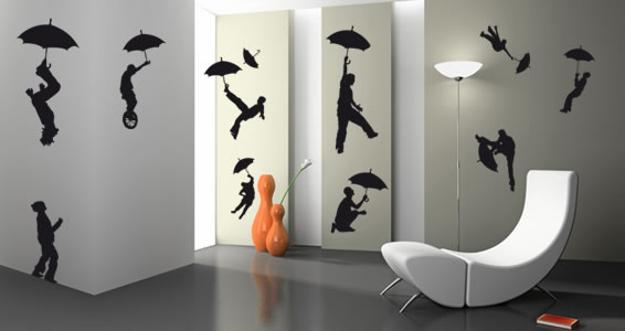 Silhouette Artworks Inspiring Creative Wall Decoration for