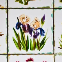 Simple Ceramic Tile Painting Ideas Adding Artworks to