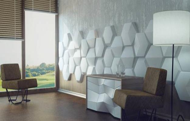 3d Tiles Live Wallpaper Decorative Wall Panels Adding Chic Carved Wood Patterns To