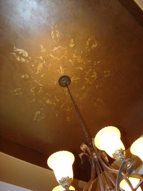 22 Modern Wall and Ceiling Designs Adding Bronze Color to