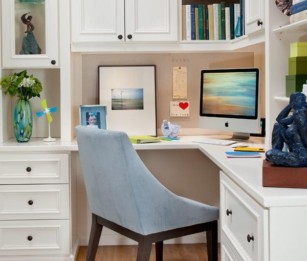 corner desk home office ideas 30 Corner Office Designs and Space Saving Furniture Placement Ideas