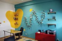 Bright Colors and Creative Wall Decorations for Modern ...