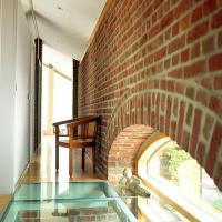 Modern House Blending Exposed Brick Wall Designs and ...