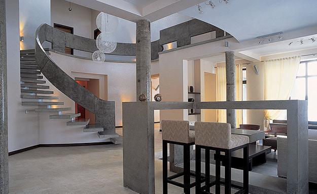 contemporary living room design ideas flexsteel furniture 35 modern interior incorporating columns into ...