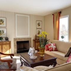 Layout My Living Room Furniture Beige Curtains Beautiful Interior Design In Family Oriented American Style