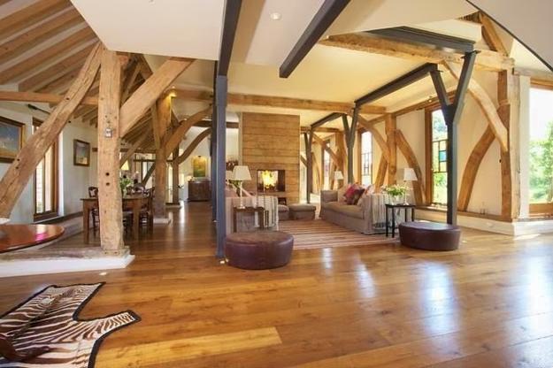 Beautiful Barn Conversion Design Creating Bright and Modern Home Interiors