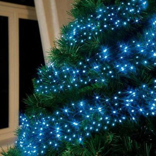 Blue Christmas Tree Decorating Ideas Adding Cool Elegance