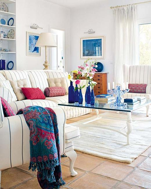 Blue Paint Color and Home Furnishings, Matching Colors for ...
