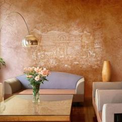 Living Room Wall Paint Finish Rooms With Wood Stoves Modern Painting Ideas And Stylish Faux Finishes For Your Decorating