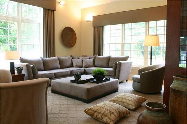 christmas decorating ideas for sofa table kennedy mitchell gold 25 modern interior design with brown color shades