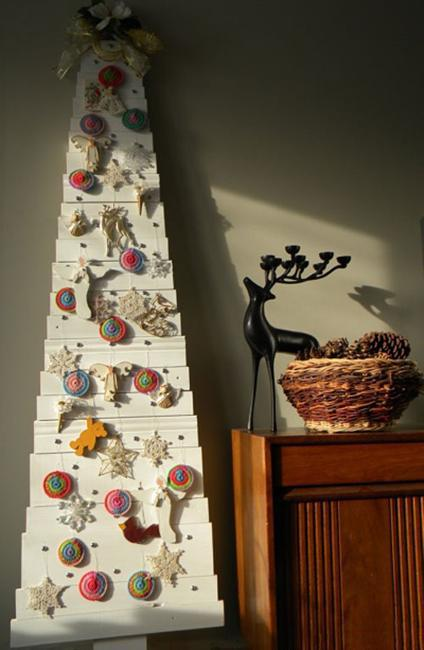 Fall Outdoor Decorations Wallpaper 40 Diy Alternative Christmas Trees Adding Fun Wall