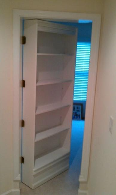 Space Saving Interior Doors With Shelves Offering