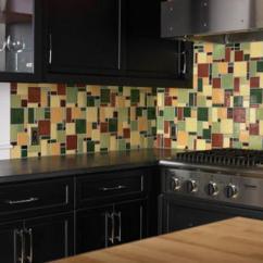 Colorful Kitchen Cabinets Rustic Lighting Fixtures Modern Wall Tiles For Backsplashes, Popular Tiled ...