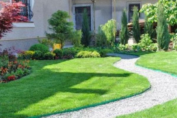 perfect green lawns and yard landscaping