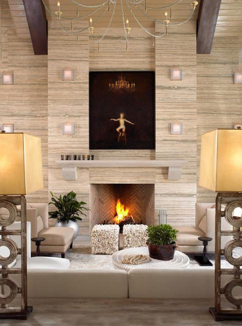 30 Modern Fireplaces and Mantel Decorating Ideas to Change