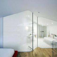 Curtain Design Ideas For Small Living Room Asian Colors Glass Partition Wall And Dividers ...