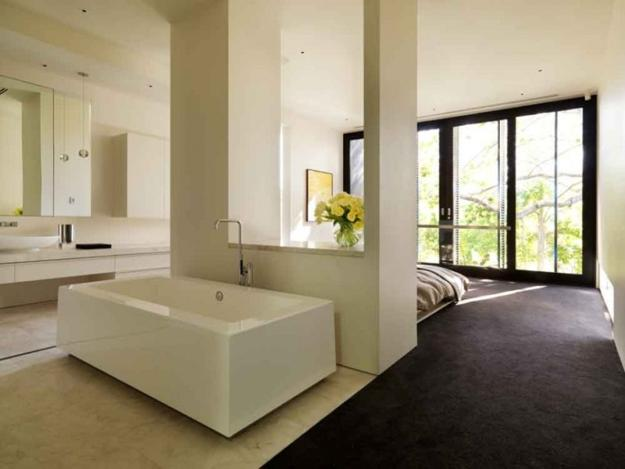 30 All In One Bedroom And Bathroom Design Ideas For Space Saving Bathroom Remodeling Projects