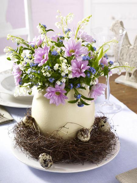 Easter Decorations Tables