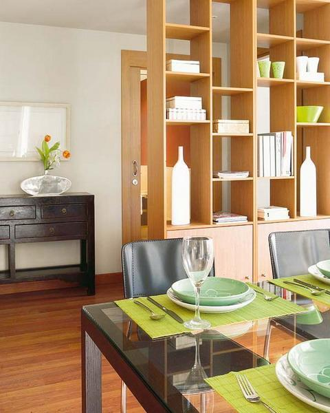 dining chairs on casters chair design for 25 room dividers with shelves improving open interior and maximizing small spaces