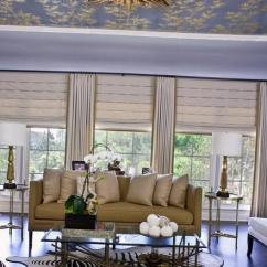 Window Treatments For Living Room Nice Color Paint 25 Roman Shades And Curtain Ideas To Harmonize Modern Rooms Design Decorating With Curtains