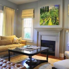 Living Room Decorating With Black Furniture Best Gray Paint For Small 25 Roman Shades And Curtain Ideas To Harmonize Modern ...