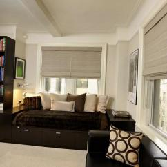 How To Design Curtains For Living Room Groupings 25 Roman Shades And Curtain Ideas Harmonize Modern ...