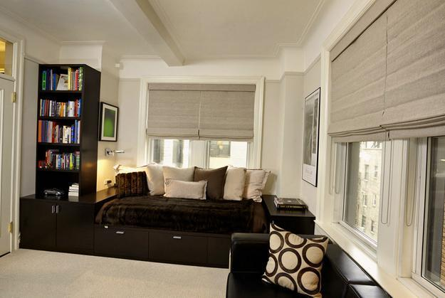 living room ideas black furniture baby blue and brown rooms 25 roman shades curtain to harmonize modern ...