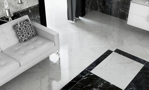 floor tile designs for living rooms room decorations modern ceramic bringing advanced technology into contemporary design with tiles in black and white