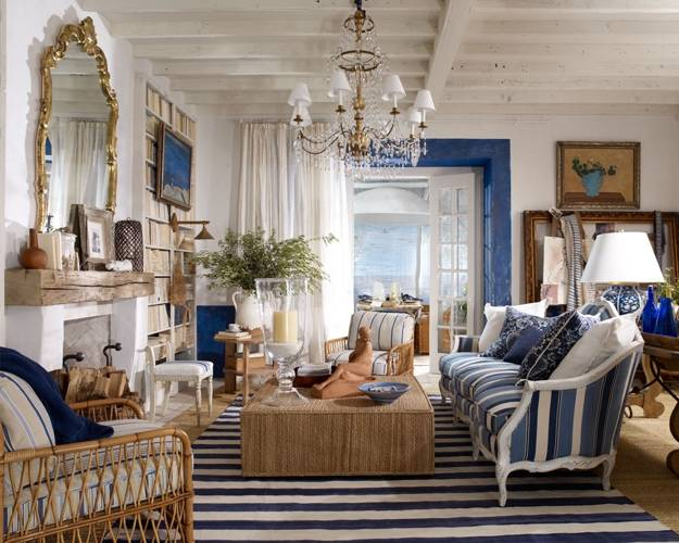 15 Modern Ideas for Room Decorating with Horizontal Stripes