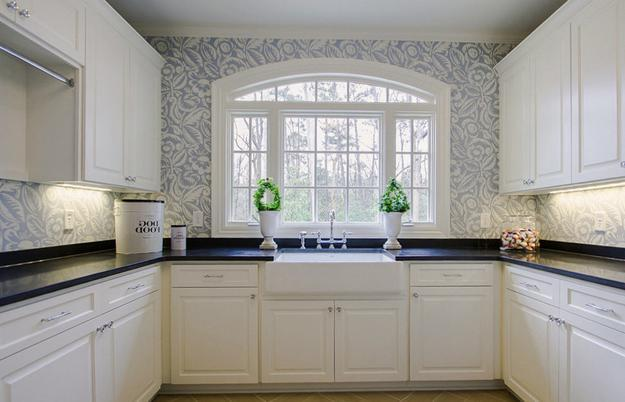 wallpaper for kitchen pot hangers latest designs flisol home modern small kitchens beautiful design and decor ideas