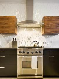 Modern Wallpaper for Small Kitchens, Beautiful Kitchen