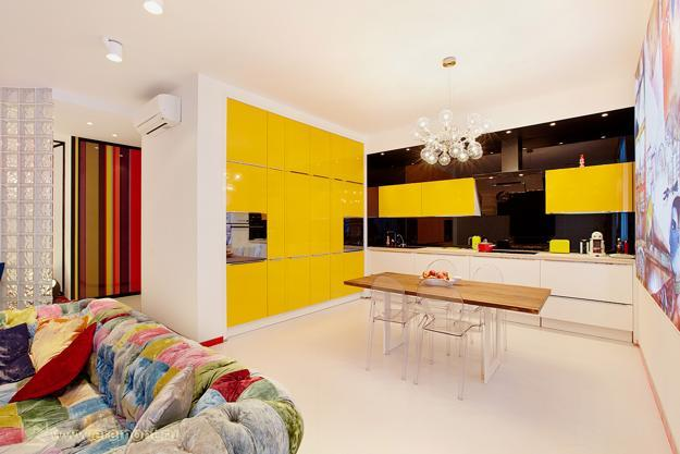 kitchen decor yellow mobile home remodel colors 22 bright modern design and in