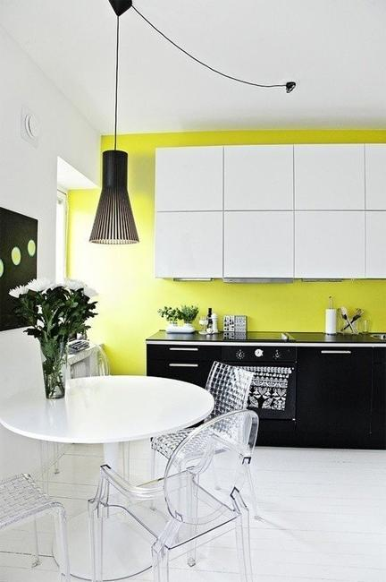Fall Minimalist Wallpaper Yellow Kitchen Colors 22 Bright Modern Kitchen Design And