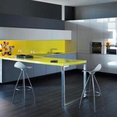Kitchen Decor Yellow Vintage Appliances Colors 22 Bright Modern Design And Decorating Ideas