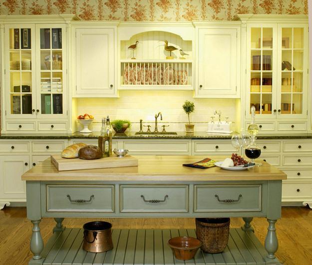 25 Beautiful Kitchen Decor Ideas Bringing Modern Wallpaper ...