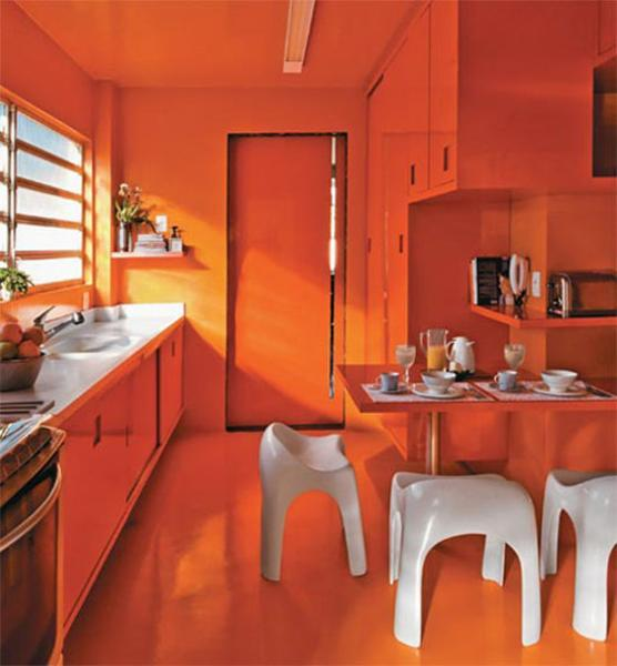 fall kitchen curtains cabinet shelves orange colors, 20 modern design and ...