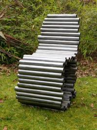 Recycling Plastic and Metal Pipes for Unique Furniture, 50 ...