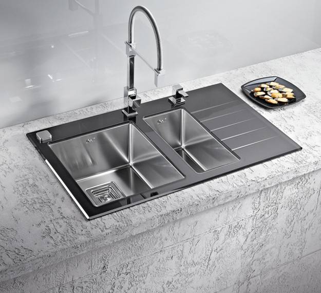 stainless steel kitchen sinks and