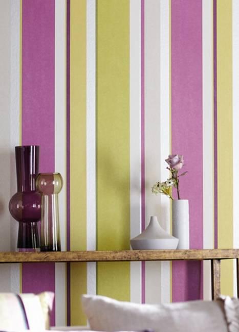 kitchen wallpaper patterns novaform anti fatigue mat vertical stripes in modern interior design, 25 room ...