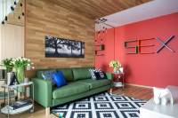 Bright Room Colors and Provocative Interior Design and ...