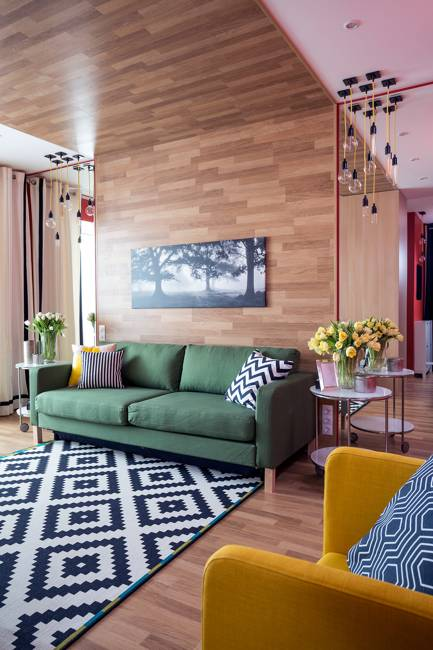 Bright Room Colors and Provocative Interior Design and Decorating Ideas