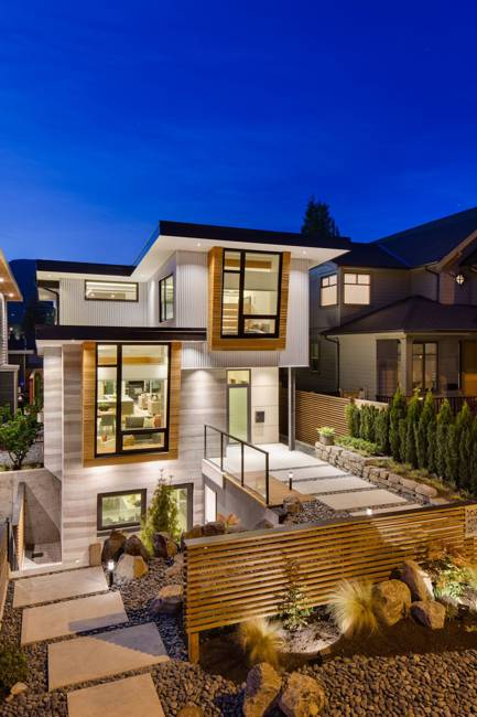 Ultra Green Modern House Design with Japanese Vibe in ...