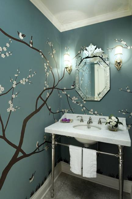 Bathroom Decor Green