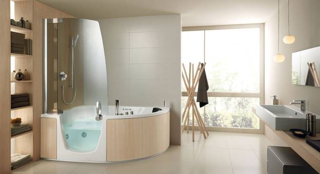 Stylish Bathtubs and Shower Enclosures Modern Bathroom Design Ideas from Teuco
