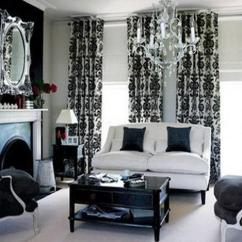 Black And White Living Rooms Low Price Room Furniture 20 Designs Bringing Elegant Chic Into Classic Design In
