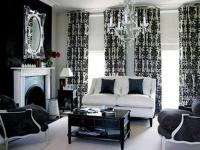 20 Black and White Living Room Designs Bringing Elegant ...