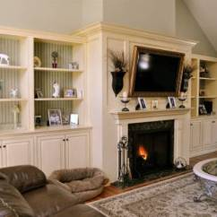 Living Room Fireplace Tv Ideas Bed Designs 30 Multifunctional And Modern With Creative Mantel Decorating The