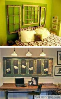 20 Ideas to Reuse and Recycle Old Wood Windows and Doors ...