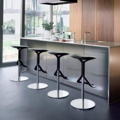 Countertop Stools Kitchen Island Lighting Fixtures Modern Bar And In Soft Round Shapes