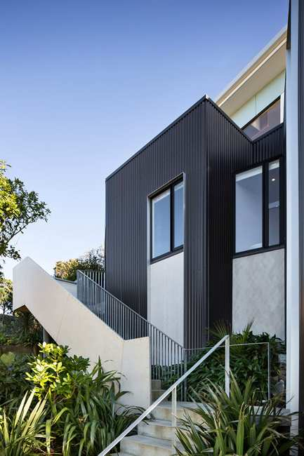 Modern House Design With Decor In Green Colors Emphasizing